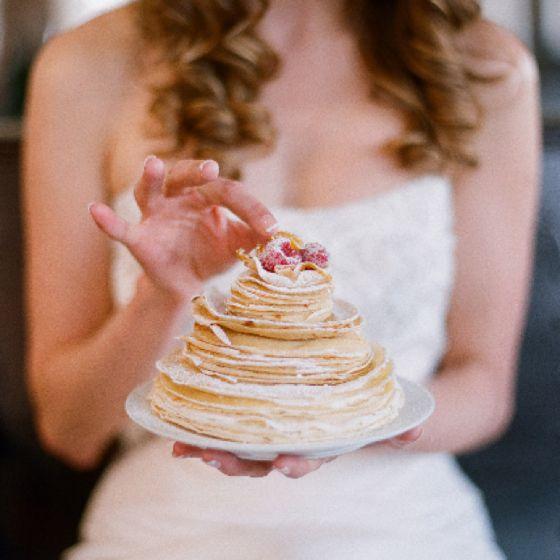 Photo Elizabeth Messina Crepe Cake Batter Bakery Food Styling