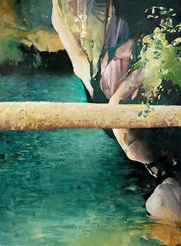 Randall David Tipton Down into the water