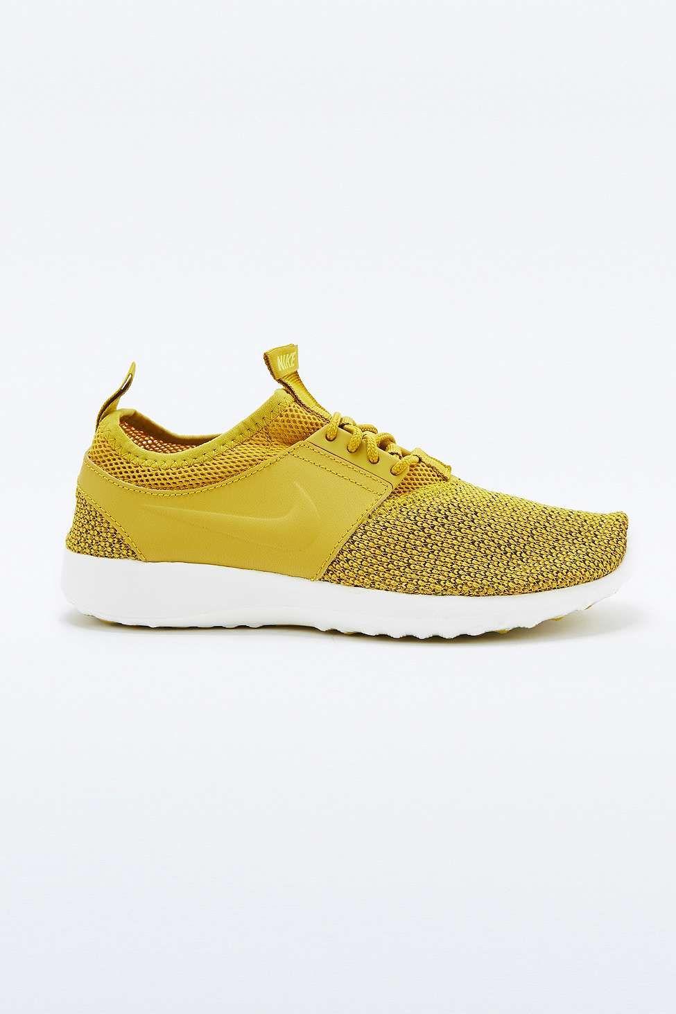 separation shoes 97472 e873b Nike Juvenate Mustard Textile Trainers