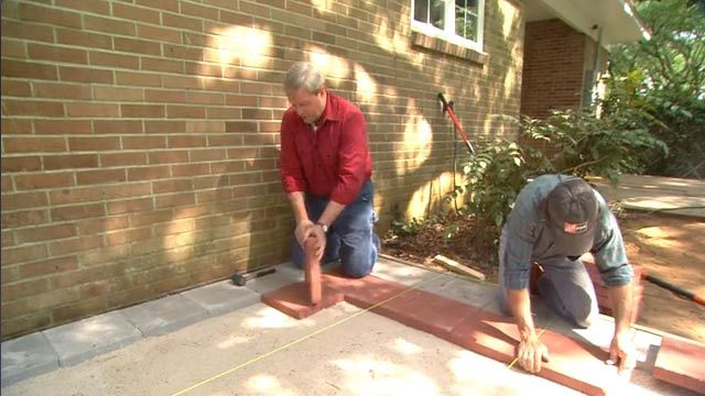 How To Lay Patio Pavers