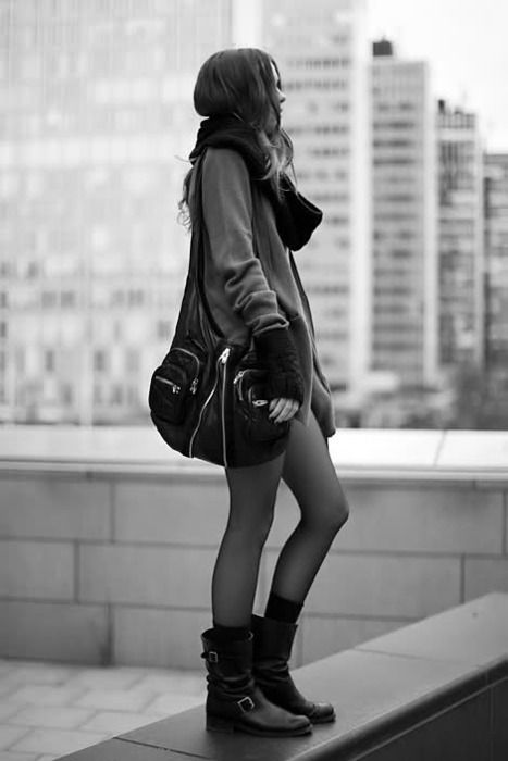ankle riding boots: city chic