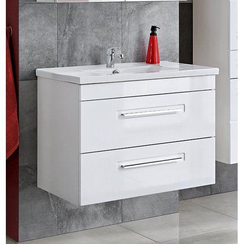 Belfry Bathroom Active 600mm Wall Mount Vanity Unit In 2020 Wall Mounted Vanity Vanity Units Classic Bathroom Furniture