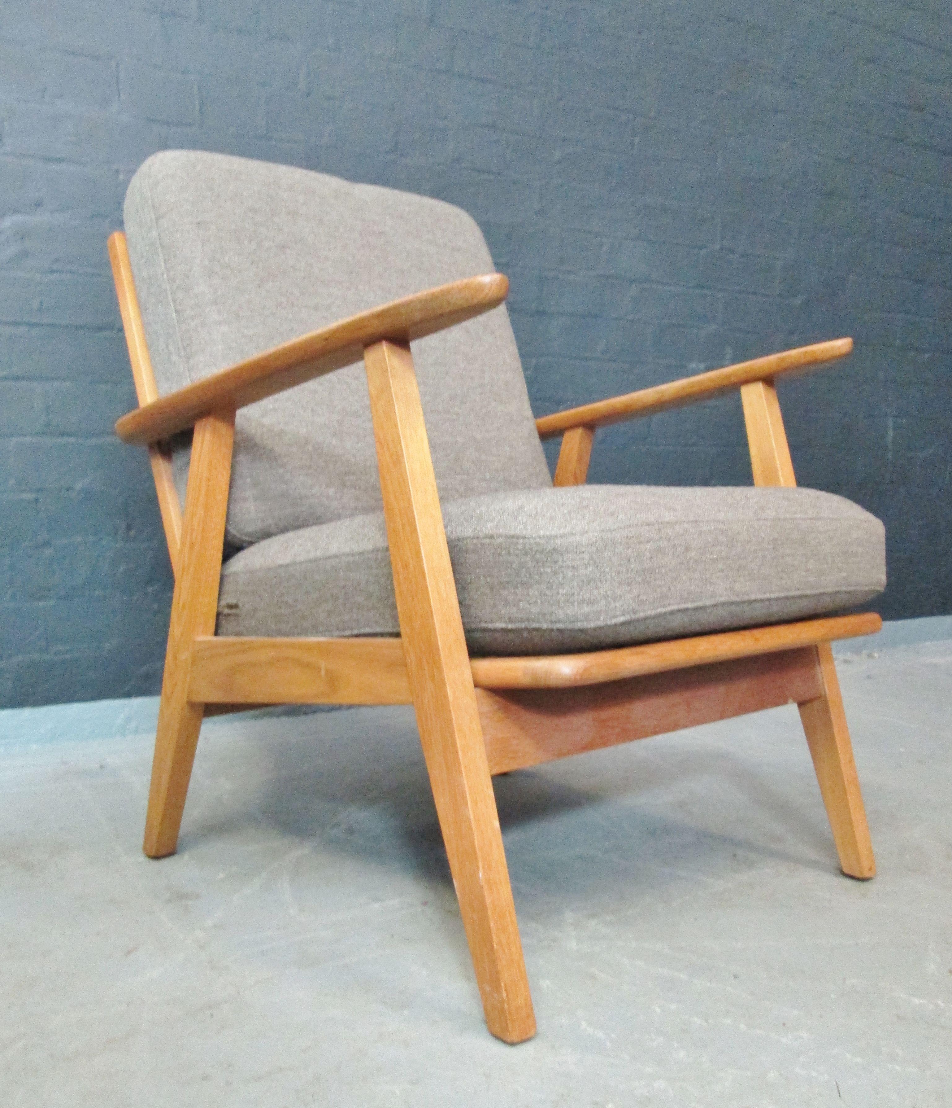 1950s 60s Danish Oak Armchair Www Archivefurniture Co Uk Oak