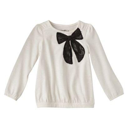 Genuine Kids from OshKosh ™ Infant Toddler Girls' Long-sleeve Tee Shirt - Polar Bear