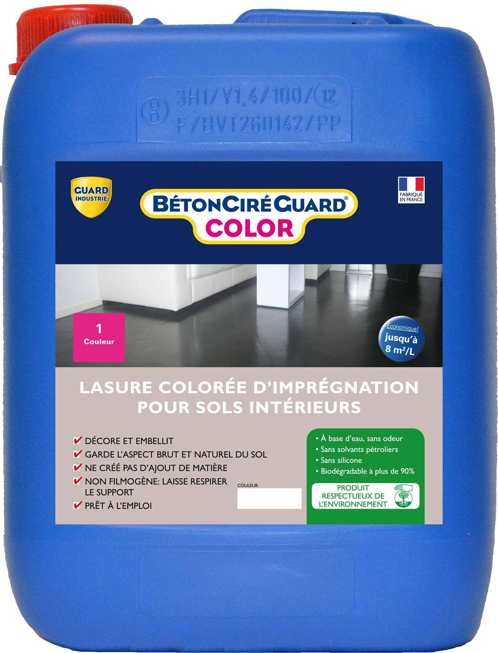 Beton Cire Guard Color Impregnation Coloree Guard Industrie Beton Cire Lasure Beton