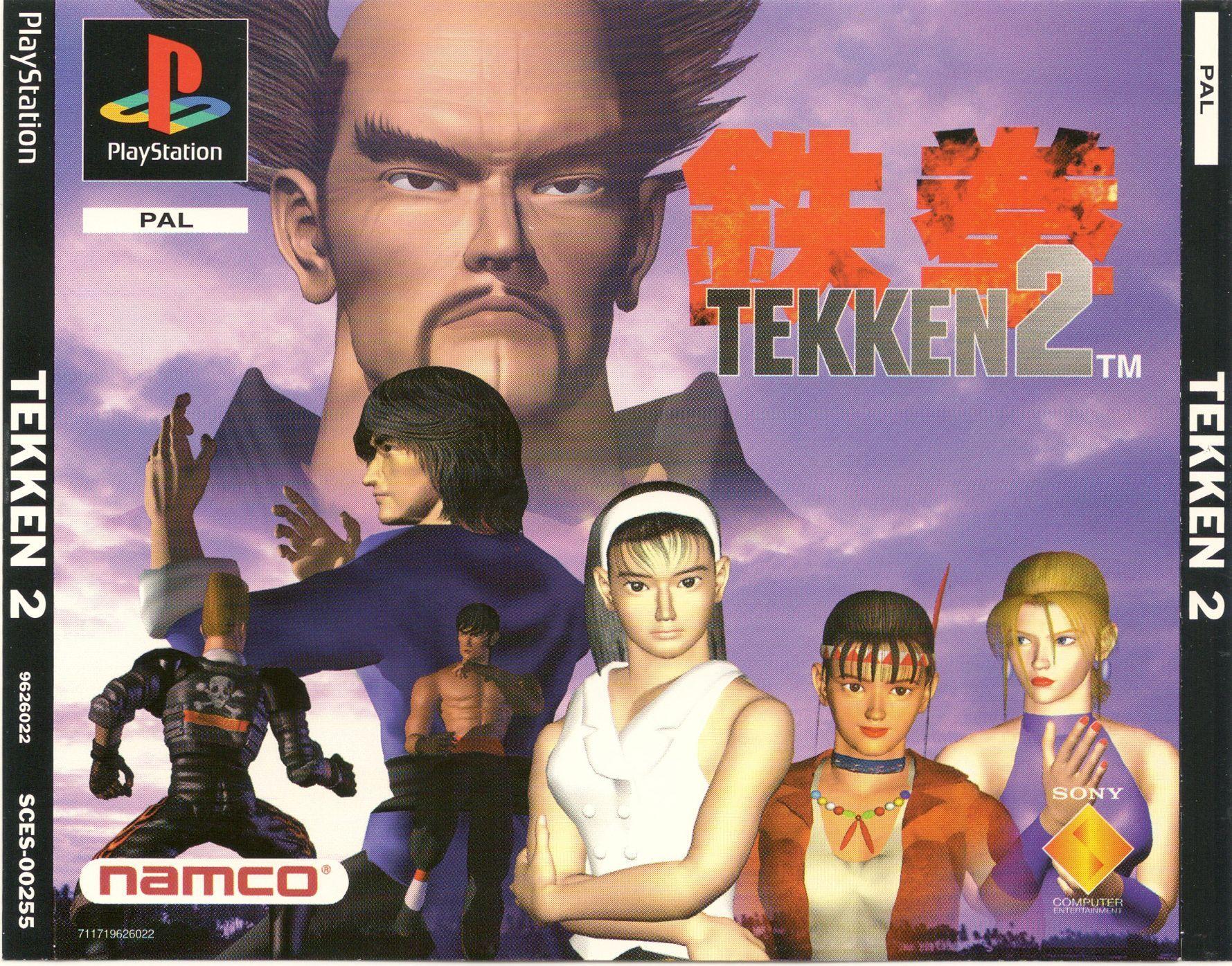 Tekken 2 PSX cover | Tekken 2, Classic video games, Playstation games