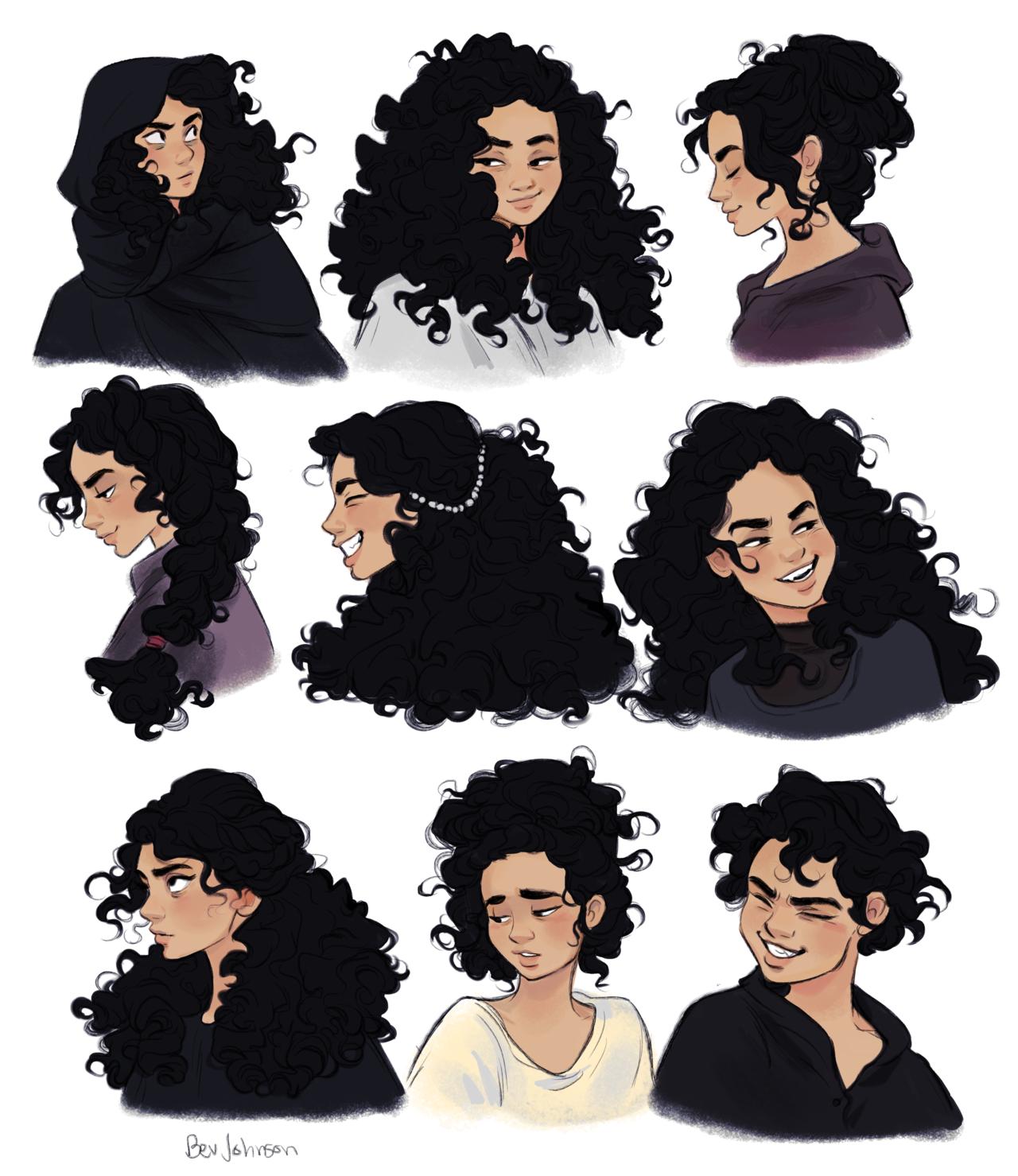 Aluna Sylvie Hairstyles In 2019 Character Design