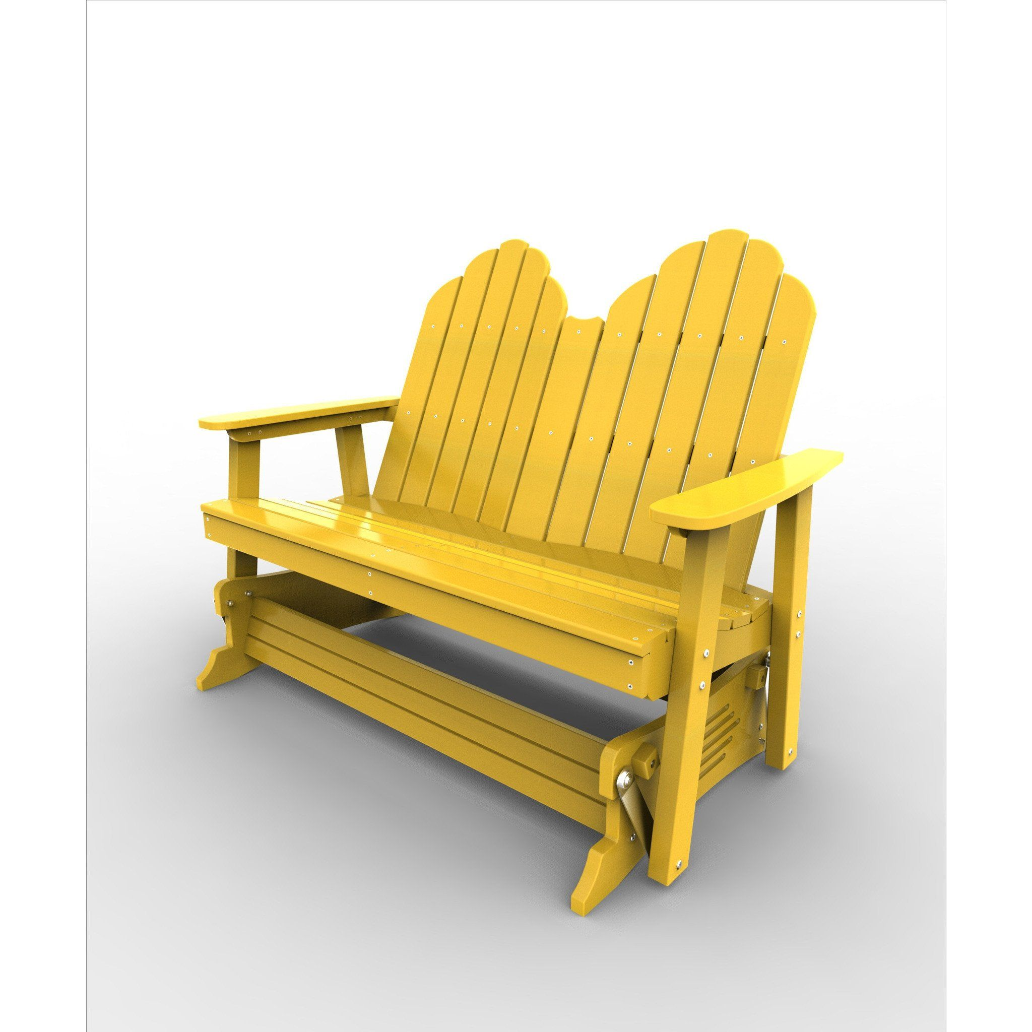 Malibu Outdoor Living Recycled Plastic Yarmouth Double Patio