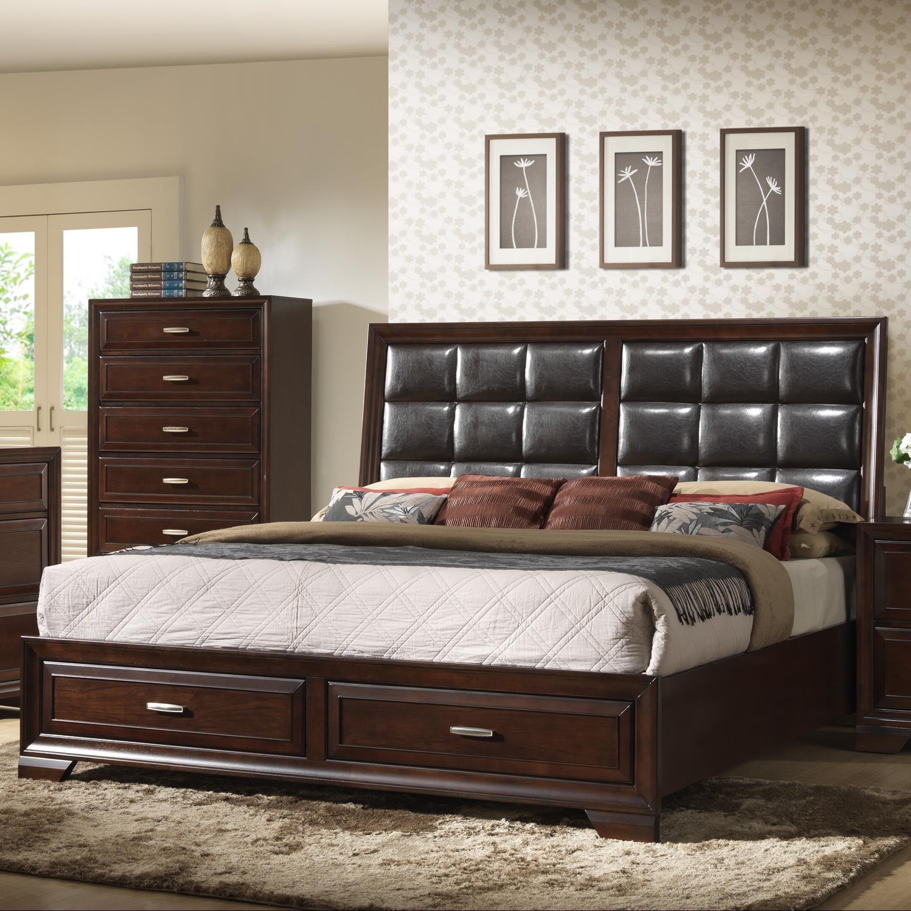 Jacob King Storage Bed By Crown Mark At Wayside Furniture King Bedroom Sets Bedroom Set Furniture