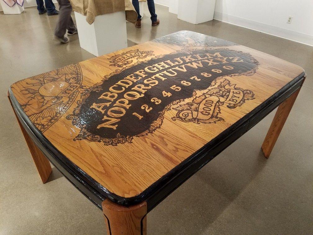 Ouija Board Dining Table Diy Ouija Board Ouija Ouija Board