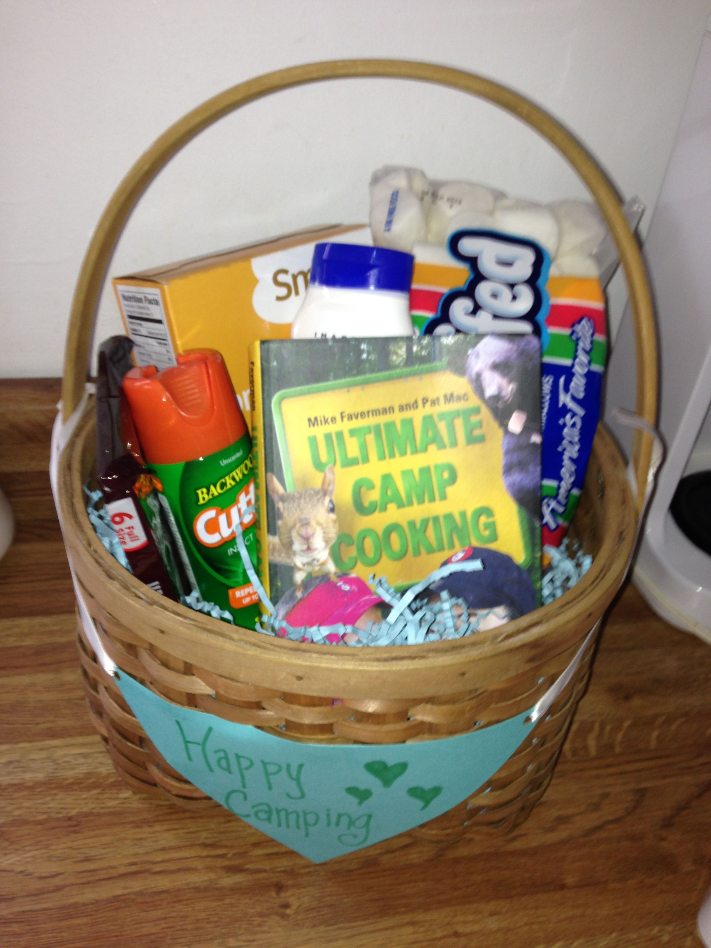Campfire gift basket