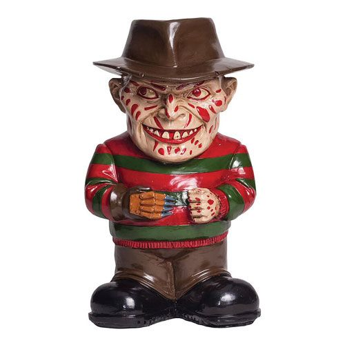 Nightmare on Elm Street Freddy Krueger Lawn Gnome Freddy krueger