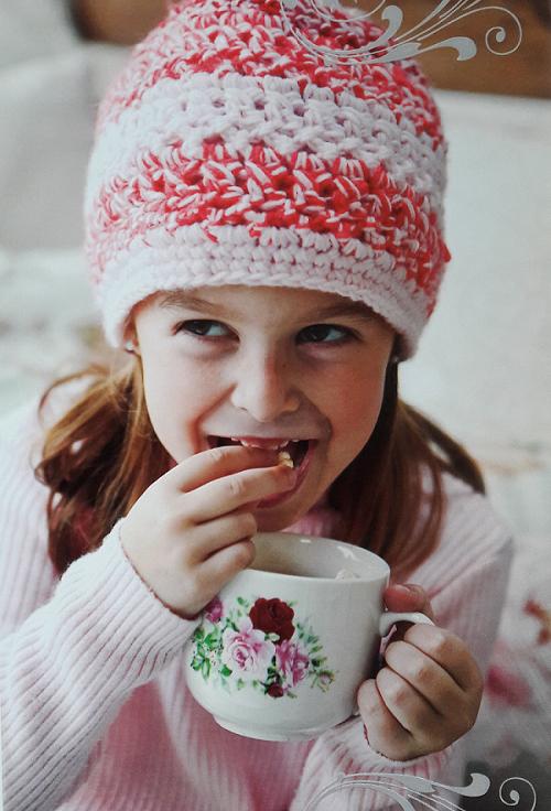 Patrón para tejer un gorro a crochet para niña | Cosas lindas para ...