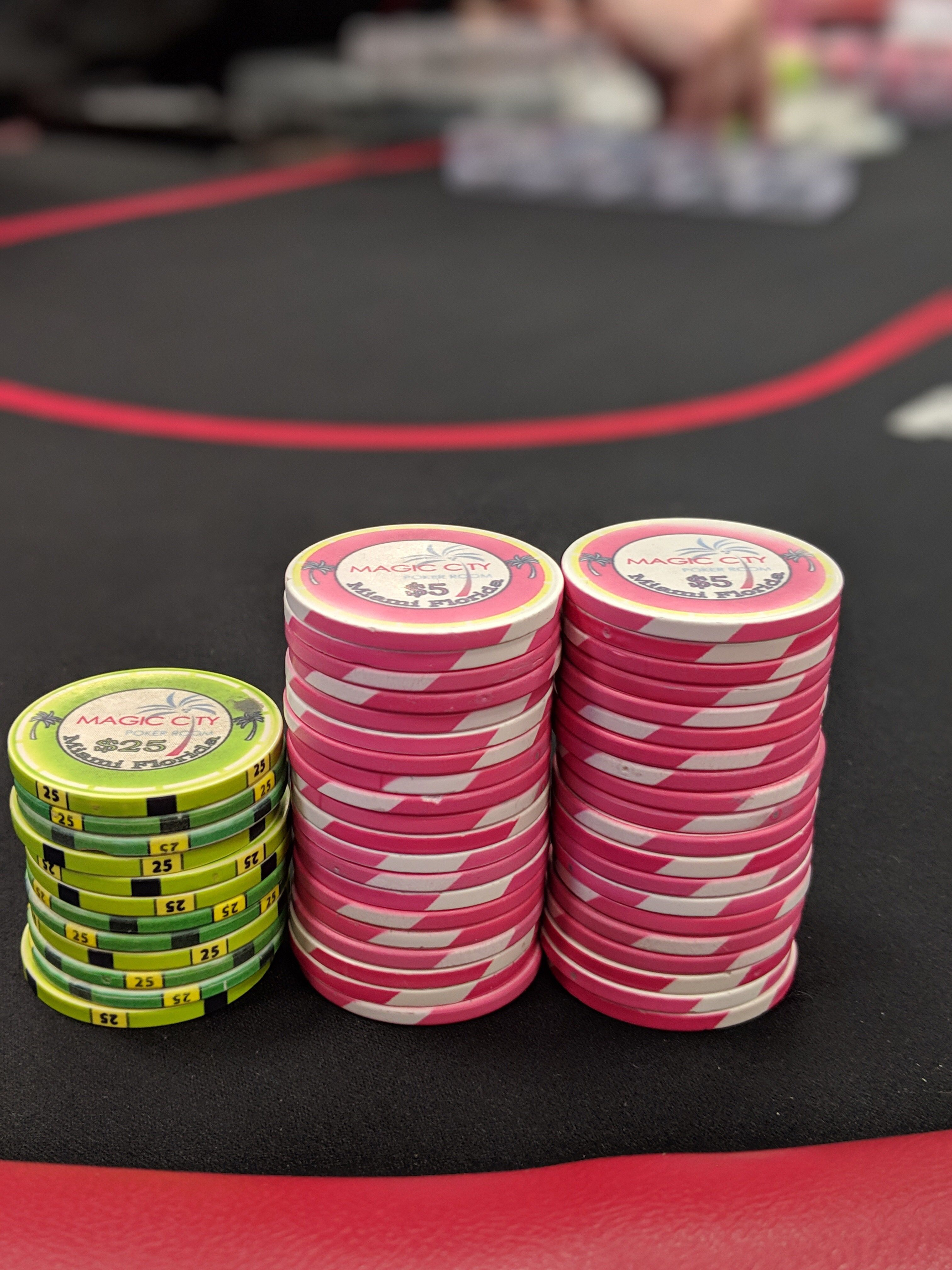 2 5 Chipstack From Magic City Casino Magic City Instagram Travel