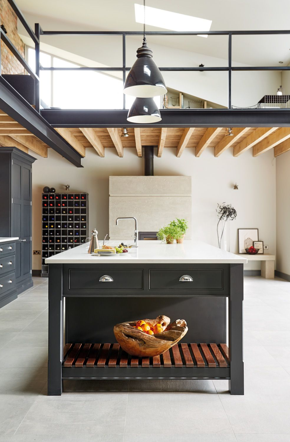 Küche Industrial Style Industrial Style Kitchen Kitchen Pinterest Küche Küchen