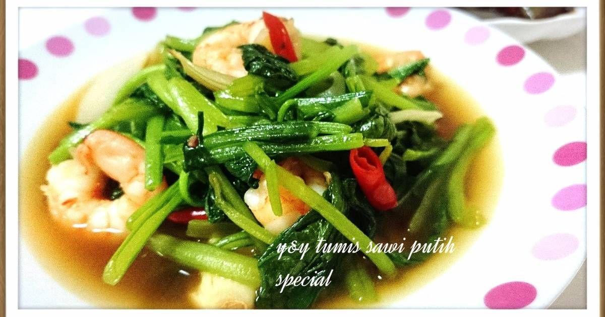 Resep Tumis Sawi Hijau Special Oleh Yny Resep Makanan Tumis Sawi Hijau