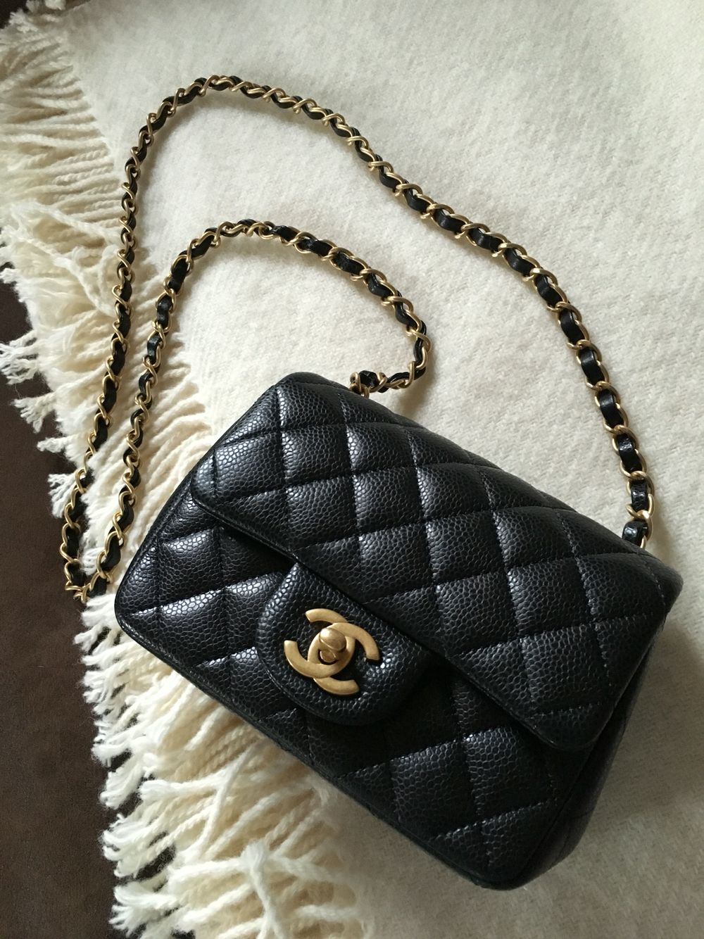 4d47260df362 New baby Chanel mini square❤ Coco Chanel Bags