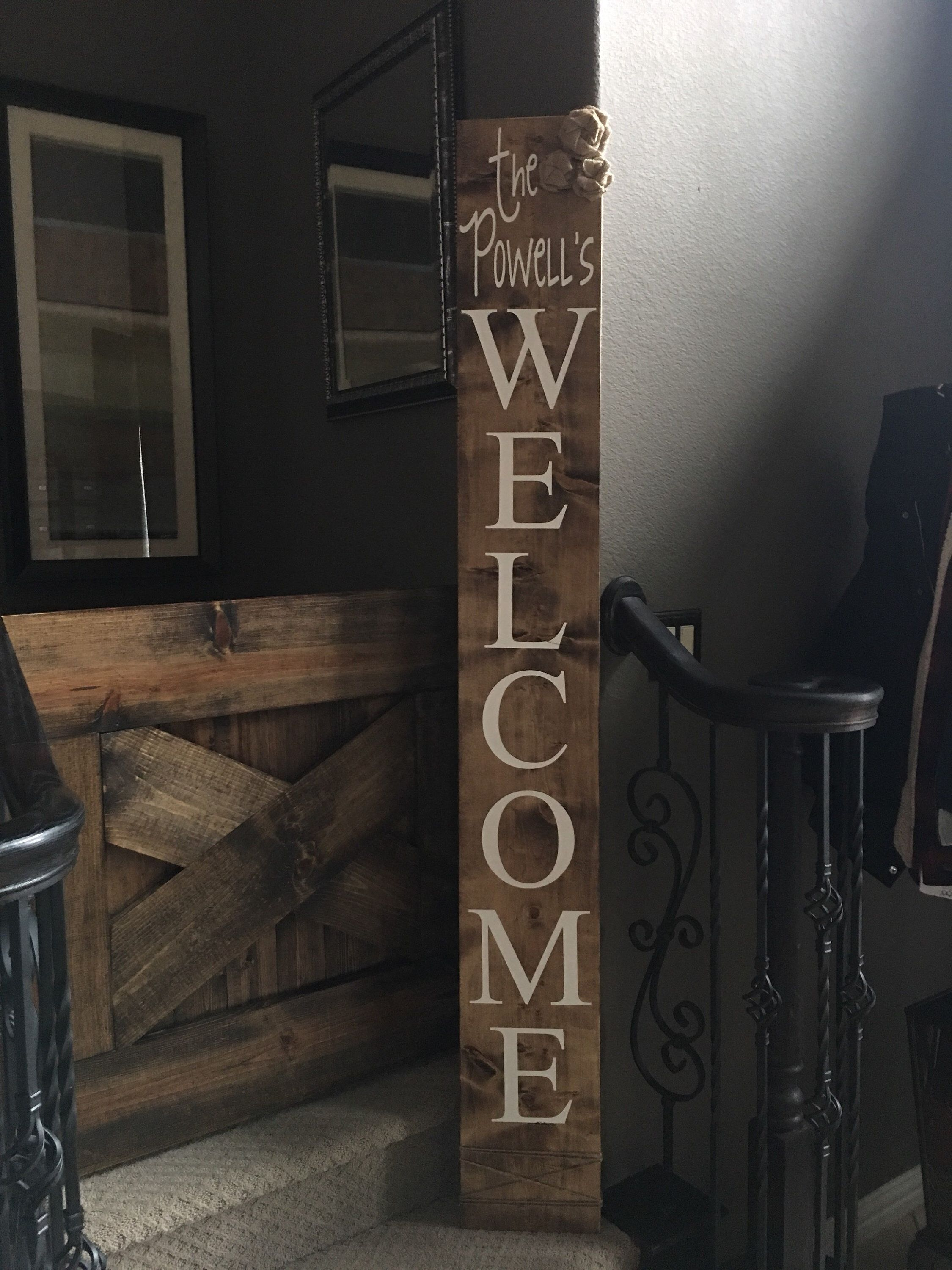 Excited To Share This Item From My Etsy Shop Welcome Porch Signs Welcome Porch Sign Outdoor Signs Personaliz Porch Signs Outdoor Signs Porch Welcome Sign