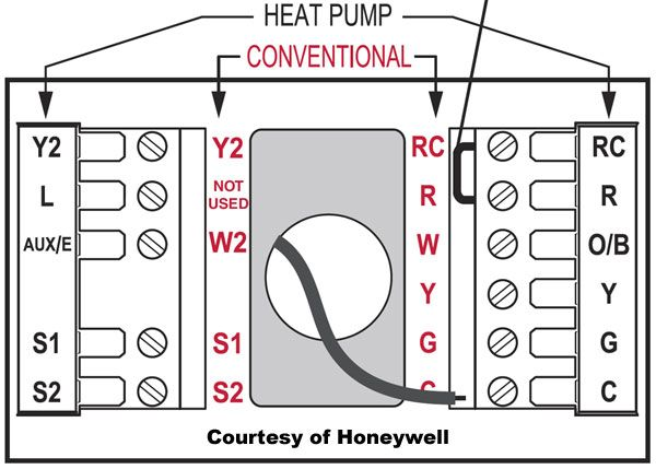 Honeywell Thermostat Wiring Instructions Diy House Help Thermostat Wiring Thermostat Installation Heating Thermostat