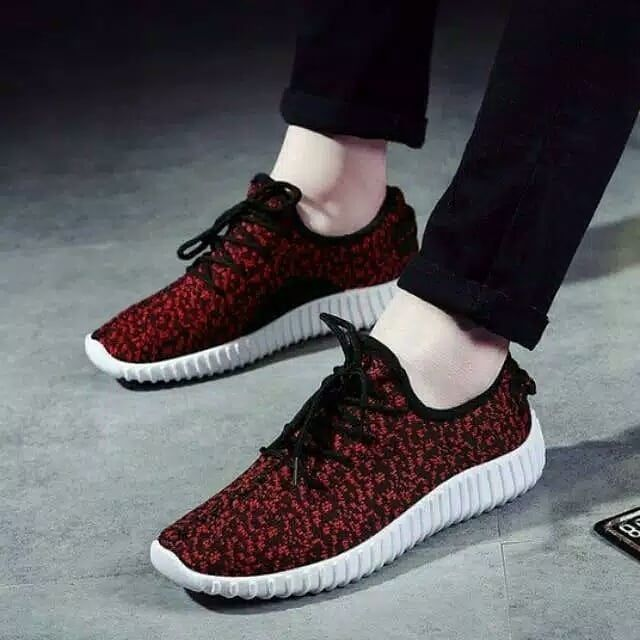 Sepatu Adidas Yeezy Bintik Merah Termurah Size 37 43 Harga