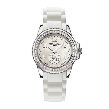 IT Girl Watch for woman, White/Steel, sport, Thomas Sabo!!!