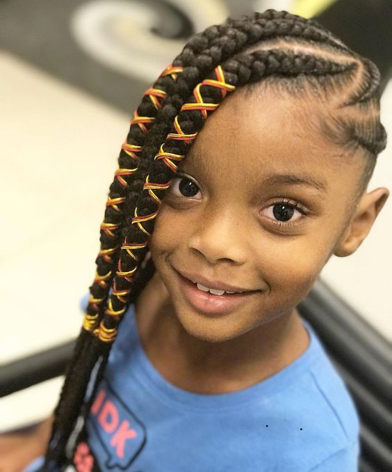 Braided Hairstyles For Kids Endearing 2018 Kids Braid Hairstyles  Cute Braids Hairstyles For Kids