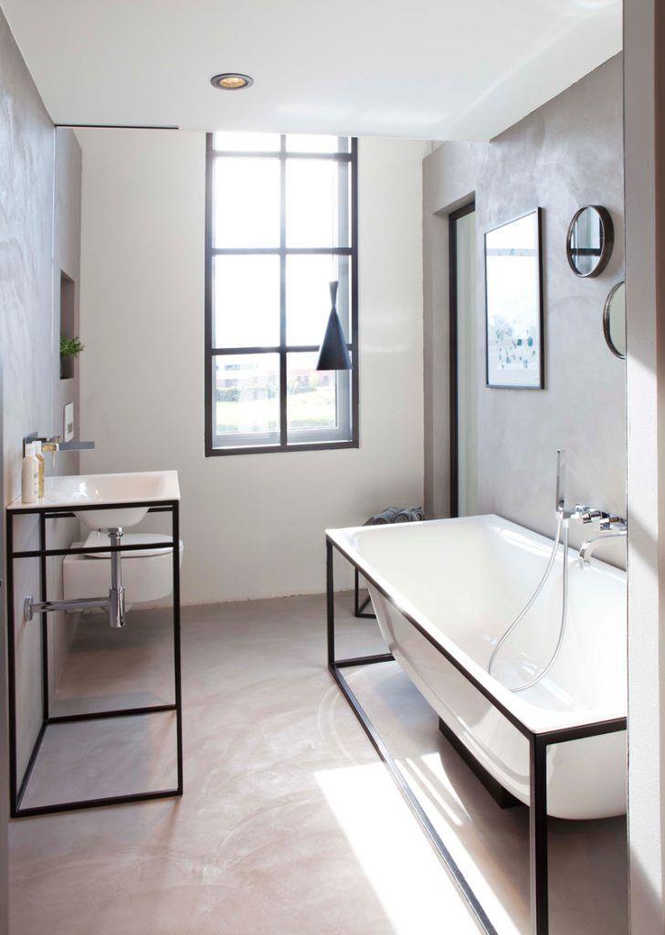 5 Tips voor een beton cire badkamer!   Bathroom SDB Cuarto de baño ...