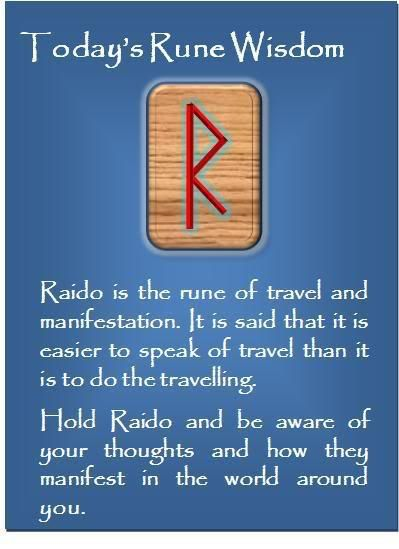 Rune Wisdom Raido Symbols Pinterest Runes Wisdom And Symbols