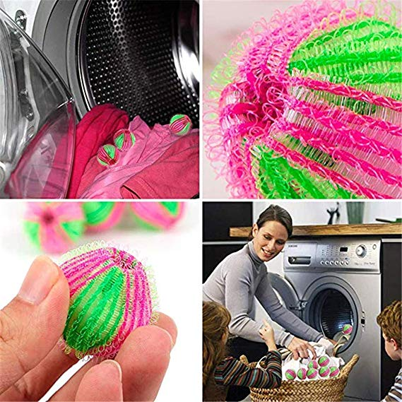 Pet Hair Remover For Laundry 12 Pack Washing Machine Hair Catcher