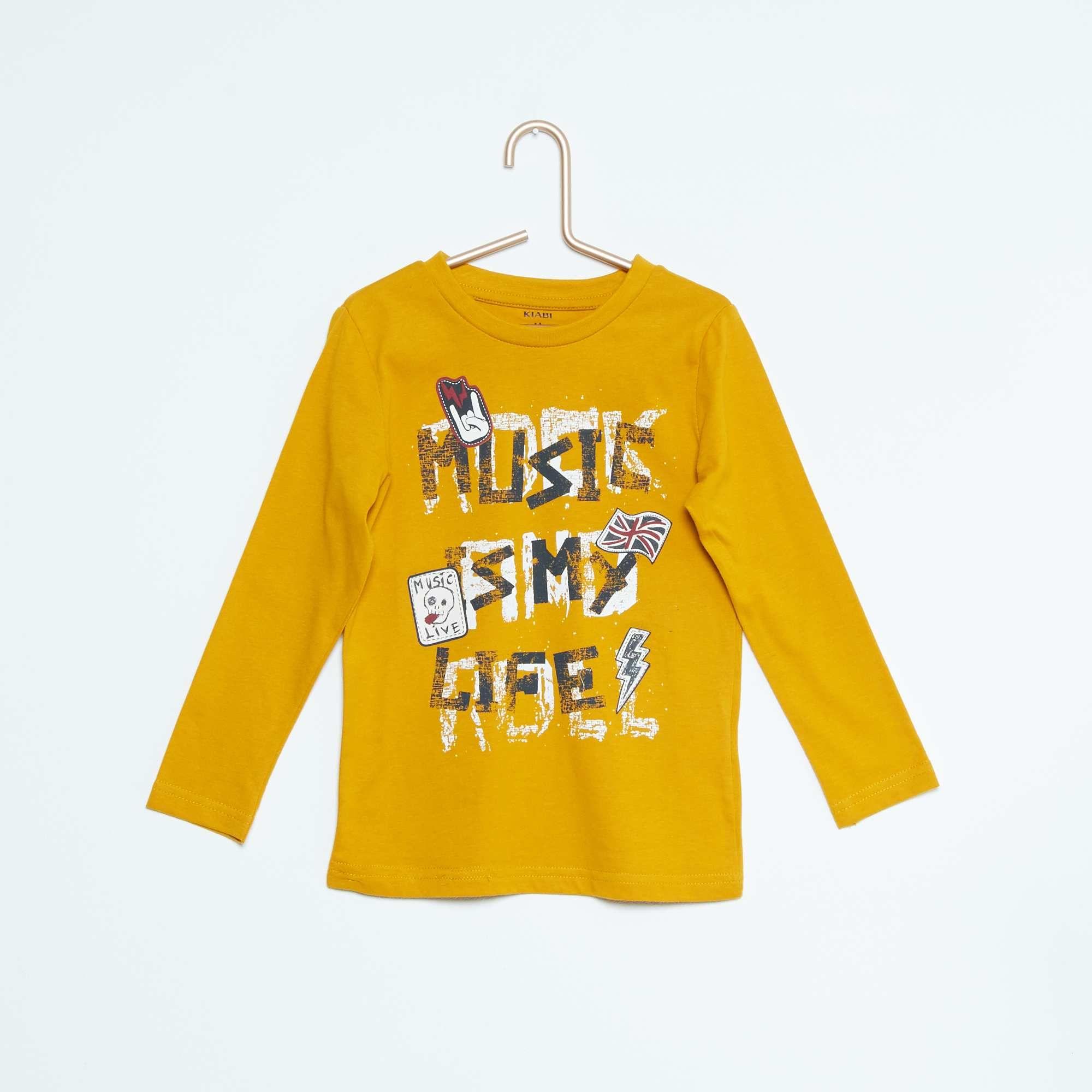 Maglietta cotone con stampa Infanzia bambino - Kiabi - 3,00€