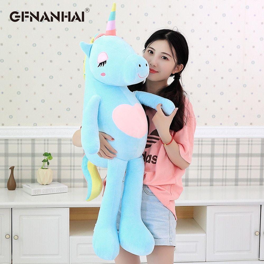 036 17 79 Ndash 036 101 79free Shipping 1pc 60 160cm Kawaii Large Soft Unicorn Animal Plush Toy Stuffed Toy Girl Gi Myagkie Igrushki Fotokollazh Igrushki [ 1000 x 1000 Pixel ]