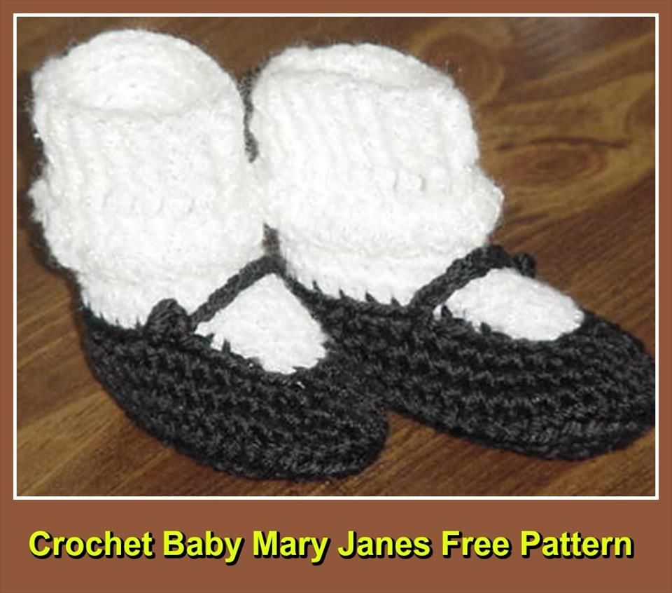 Crochet Baby Booties - Top 40 Free Crochet Patterns | Made With ...