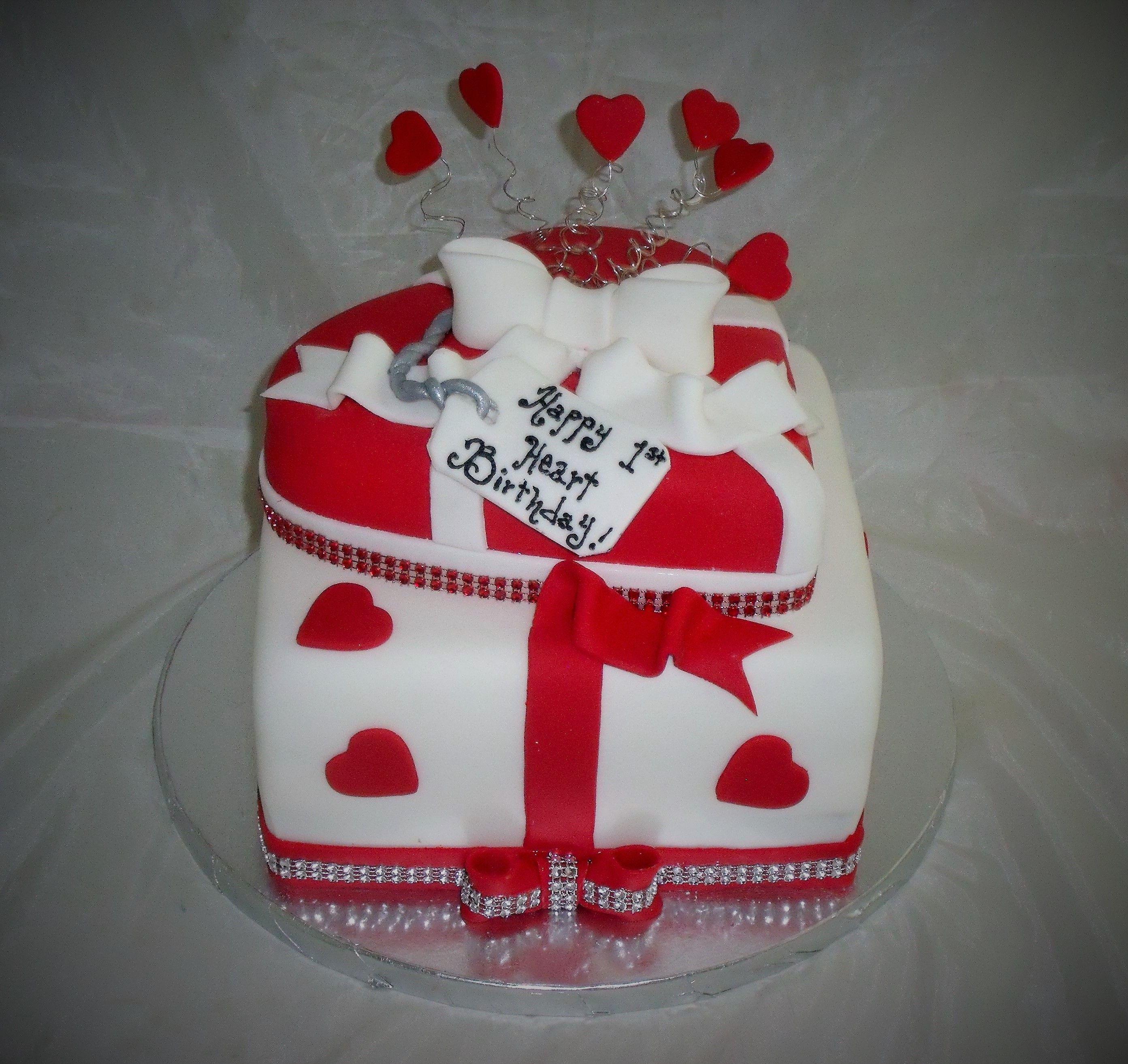 1st Year Heart Transplant Cake Eativecakesbykeekee