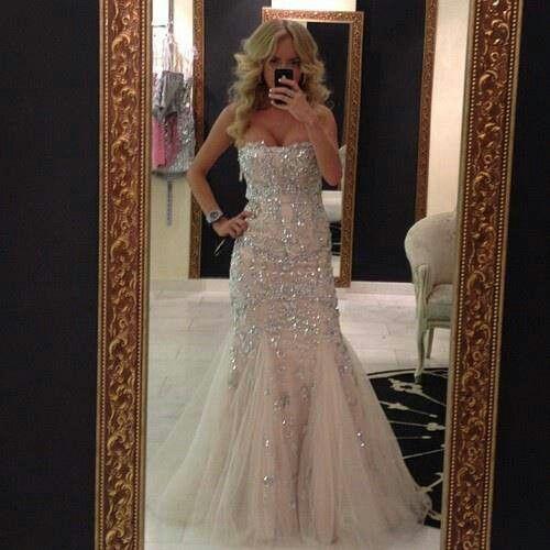 Best 25+ Sparkly Wedding Dresses Ideas On Pinterest