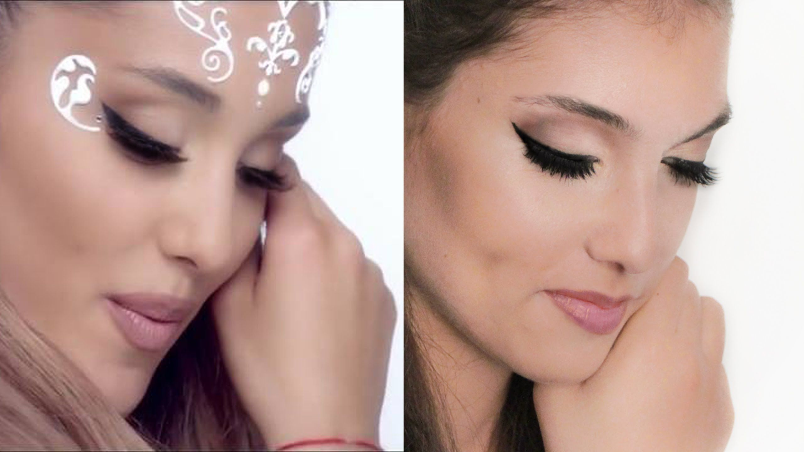 Pin by erika zagornik on in love pinterest ariana grande and black ariana grande make up hair tutorial deutsch break free i hannah black baditri Image collections