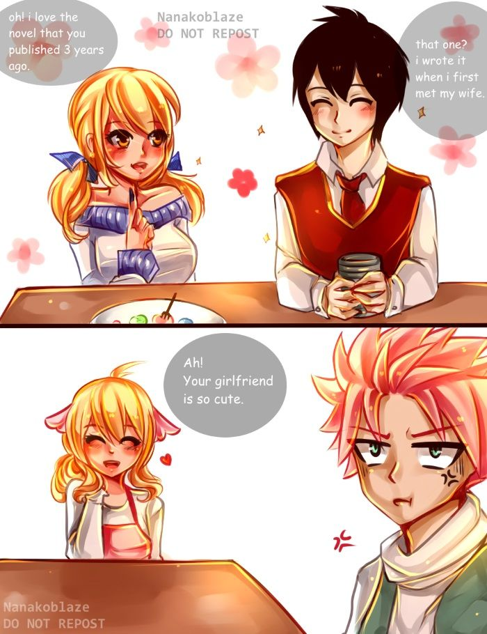 DO NOT EDIT OR REPOST_____Natsu introduces his girlfriend ...
