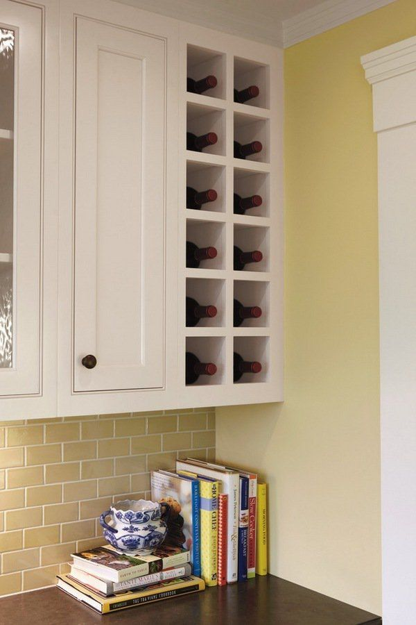 Modern Wine Racks An Impressive Decorative Element In The Interior Built In Wine Rack Kitchen Cabinet Wine Rack Modern Wine Rack