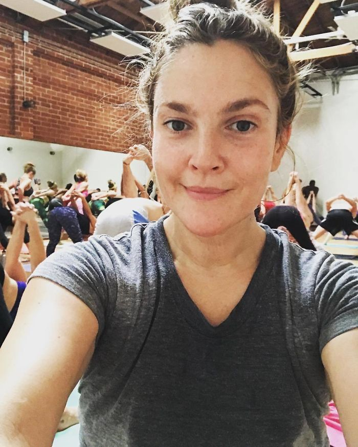 Drew Barrymore Without Makeup Drew Barrymore Barefaced Beauty