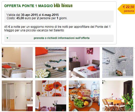 Last minute Ponte Primo Maggio | last minute salento e promozioni ...