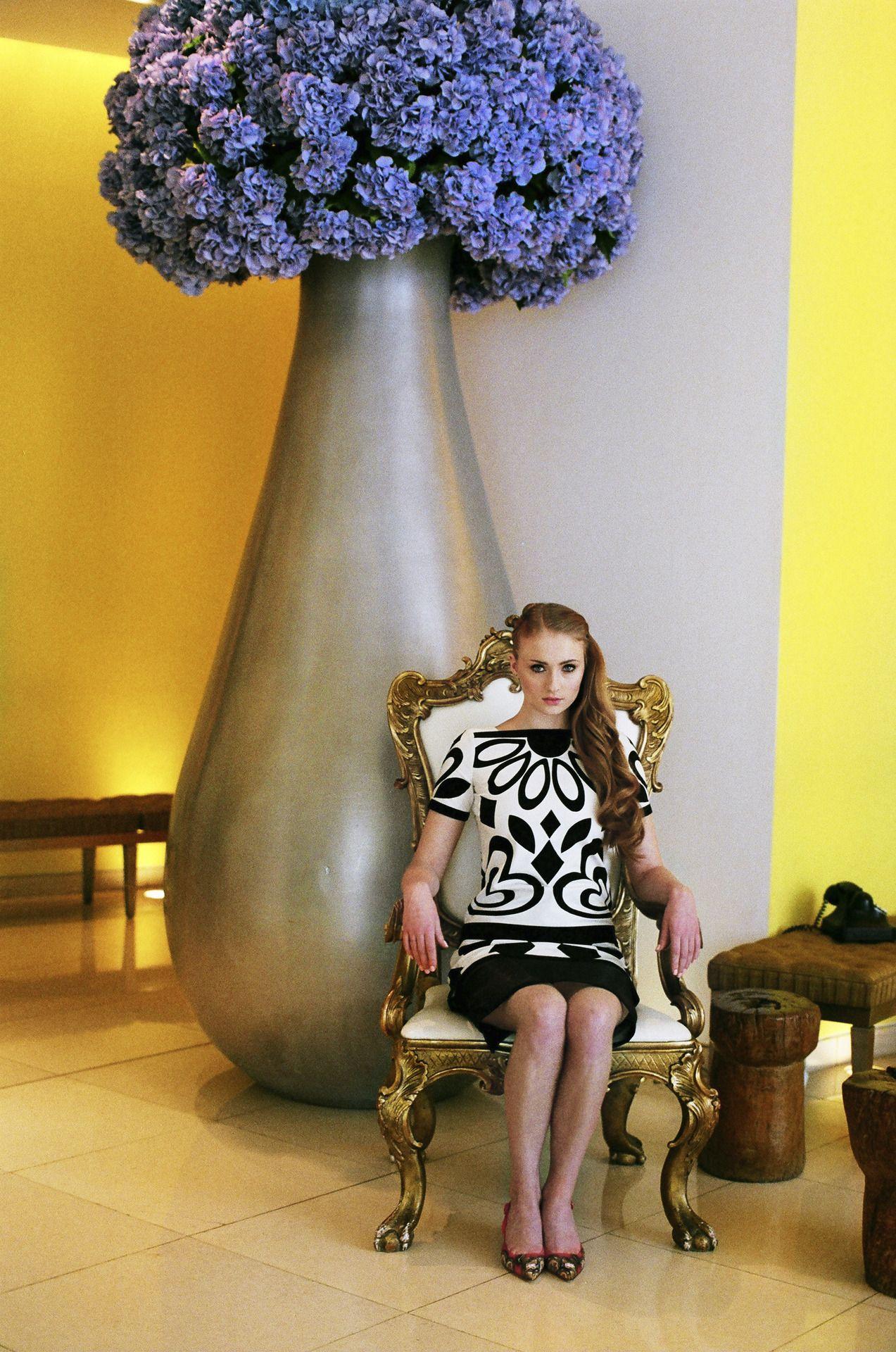 Game of Throne's Sophie Turner for 1883 Magazine / June 2013 photography /Alena Jascanka fashion /Chad Burton