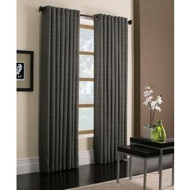 Style Selections 95 L Blue Marsden Curtain Panel Breakfast Room