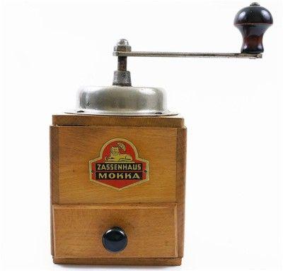 Super Vintage Zassenhaus Coffee Grinder Working Hand Held Retro Kitchen Mokka Ebay Bottle Opener Wall Coffee Grinder Bottle Opener
