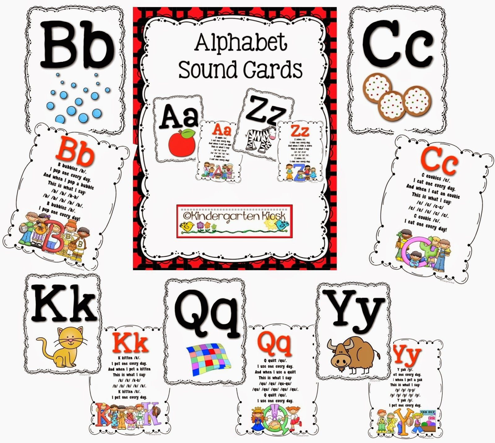 Have You Been Looking For Just The Right Alphabet Sound Cards Well Look No Further Kids Love