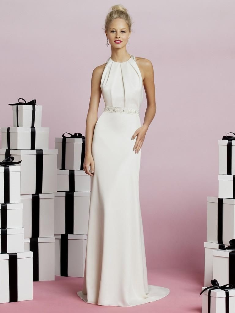 2019 Mature Wedding Dresses Second Marriage - Cold Shoulder Dresses ...