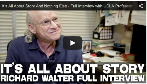 It's All About #Story And Nothing Else - Full Interview with #UCLA #Screenwriting Professor Richard Walter   #teachers #teach #teachertraining #script #screenplay #writing #writingtips #writingadvice #screenwritingtips #screenplaywriting #write #filmandtelevision   #screenwriting