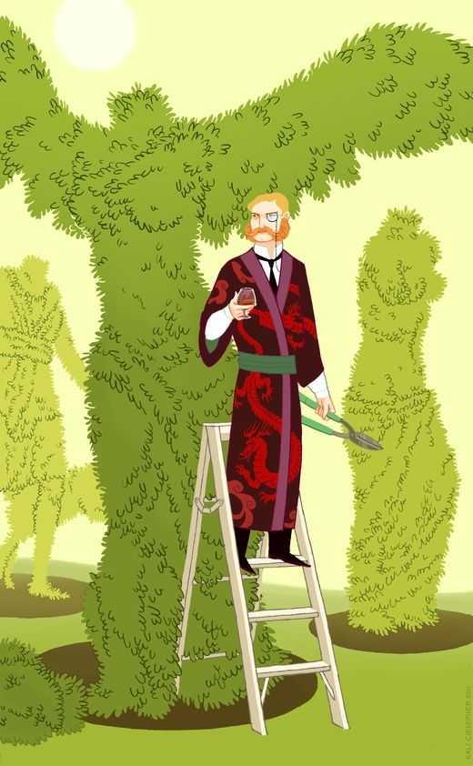 The Gardener by Kali on #INPRNT - #Illustration #print #poster #art