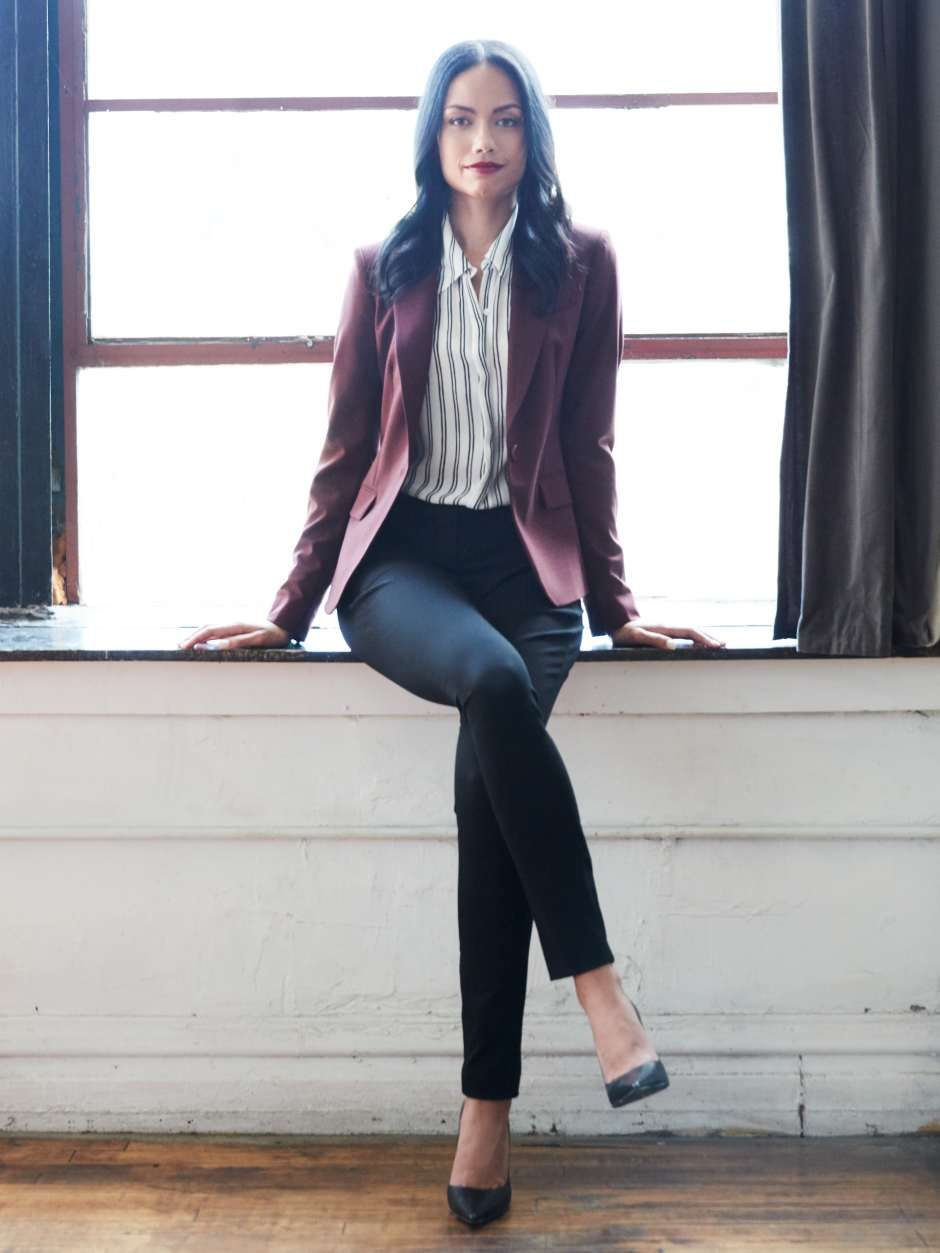 Womens-business-casual-blazer … | Pinteres…