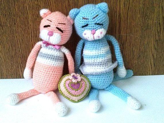 Amigurumi Cat Doll : Amigurumi cat doll crochet kitten amigurumi cats plush kitten