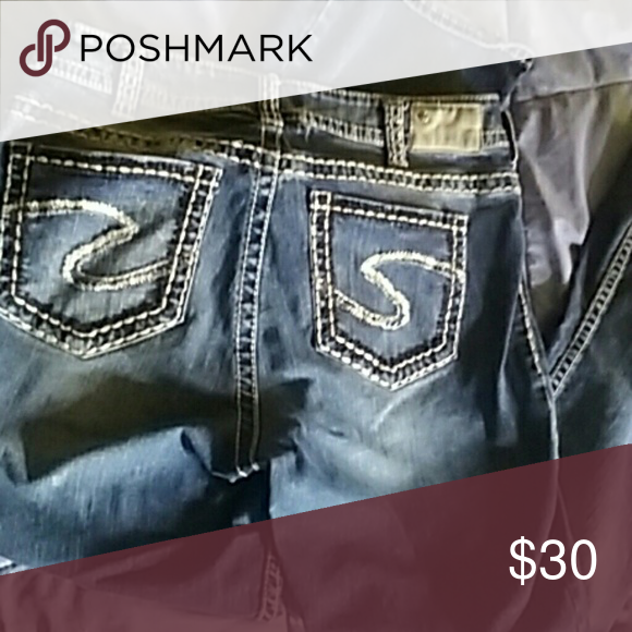 Silver suki mid boot size 16 Good condition Silver boot cut jeans 31 length Silver Jeans Jeans Boot Cut