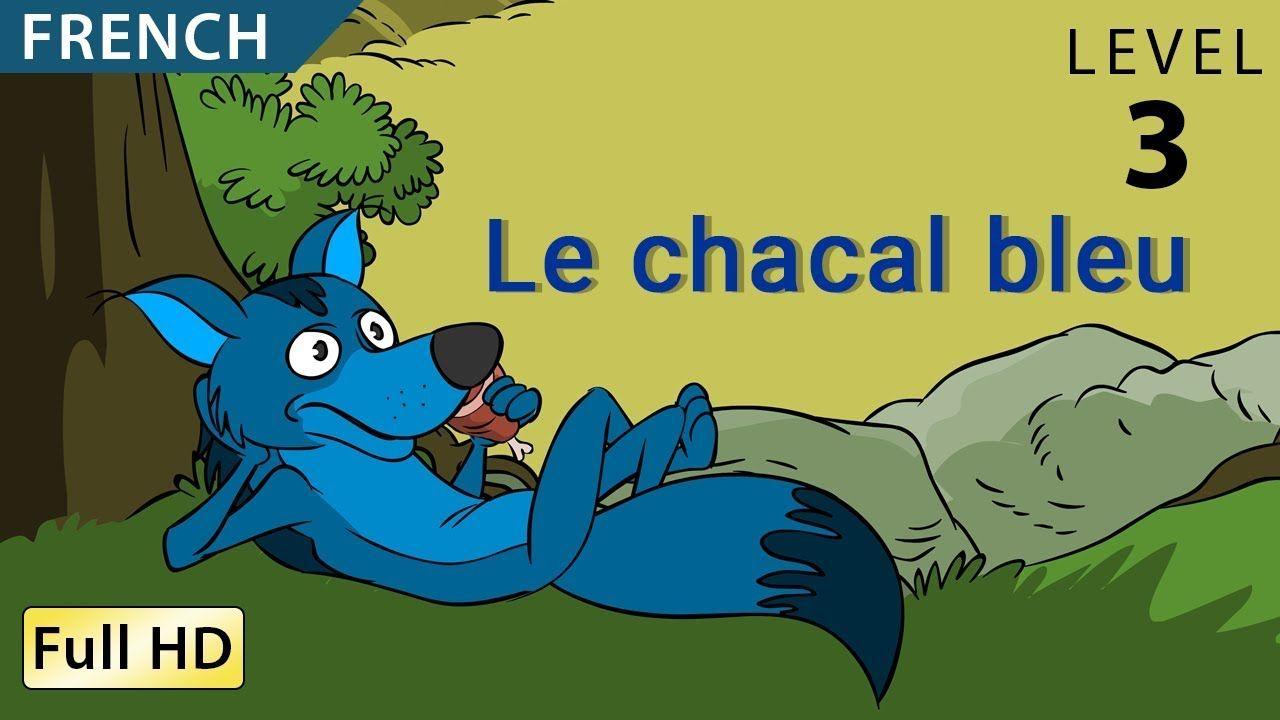 Le Chacal Bleu Apprendre Le Français Avec Sous Titres Histoire Pour Enfants Et Adultes Youtube Histoire Enfant Apprendre Le Français Histoire En Ligne